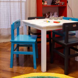 Mesa para Jugar y Dibujar c/Cajón
